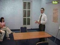 Вход в кабинет и установление контакта с клиентом