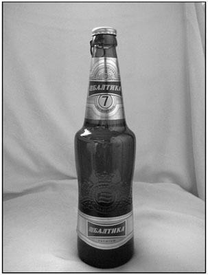 Балтика пивная бутылка