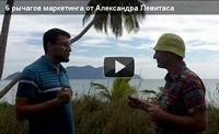 6+1 рычагов маркетинга от Александра Левитаса (видео)