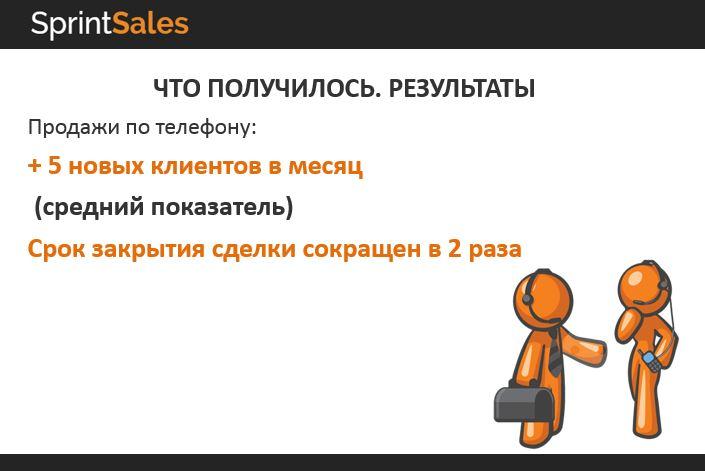 Продажи по телефону кейс